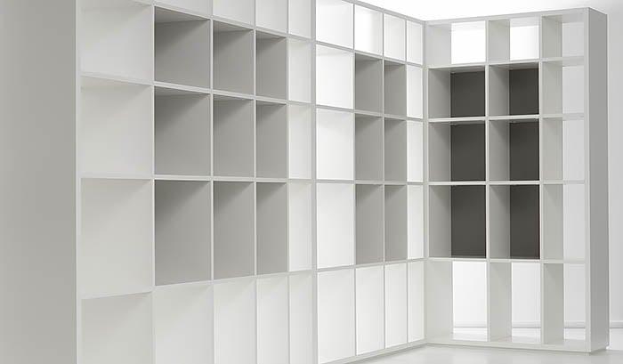 Nuvola: Boekenkast op maat voorbeelden